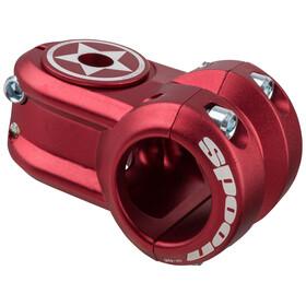 Spank Spoon 2.0 - Potence - Ø31,8mm rouge